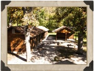 Lakeside Cabin area at Camp Crosley YMCA