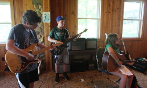 Camp Crosley YMCA offers a Music Fusion class to summer campers